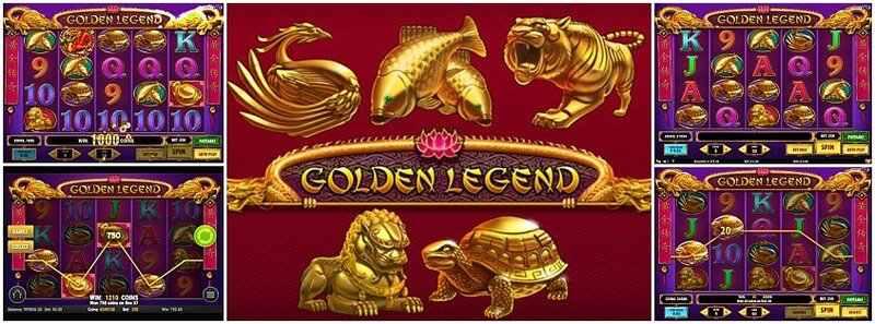 Golden Legend ตัวอย่างเกม สล็อต Play'n Go